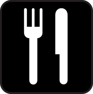 Black Food Icon Clipart png free, Black Food Icon transparent png
