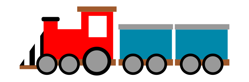 Train Clipart png free, Train transparent png
