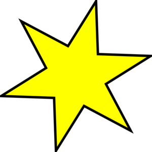 Star For Walker Clipart png free, Star For Walker transparent png