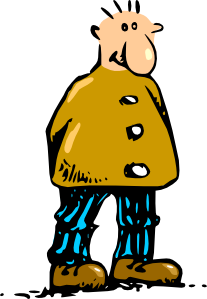 Man Standing Cartoon 2 Clipart png free, Man Standing Cartoon 2 transparent png
