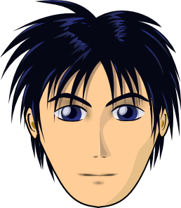 Adult Person Anime Cartoon Head Clipart png free, Adult Person Anime Cartoon Head transparent png