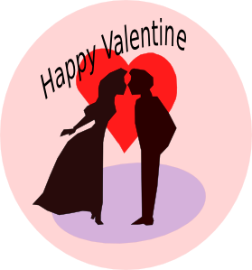 Happy Valentine Clipart png free, Happy Valentine transparent png