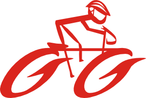 Cyclist On Bike Clipart png free, Cyclist On Bike transparent png