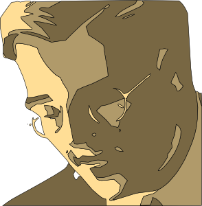 Man In Glasses Reading Clipart png free, Man In Glasses Reading transparent png