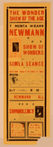 The Mental Wizard, Newmann Th Man Who Knows And His Deluxe Show Of Wonders : Featuring The World Famous Simla Seance. Clipart png free, The Mental Wizard, Newmann Th Man Who Knows And His Deluxe Show Of Wonders : Featuring The World Famous Simla Seance. transparent png