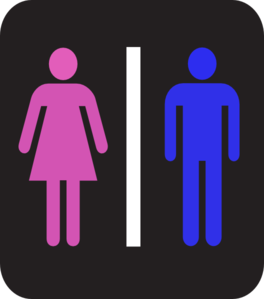 Man And Woman - Colors Clipart png free, Man And Woman - Colors transparent png