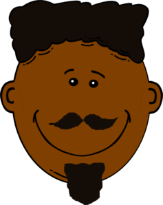 Black Man With Face Hair Clipart png free, Black Man With Face Hair transparent png