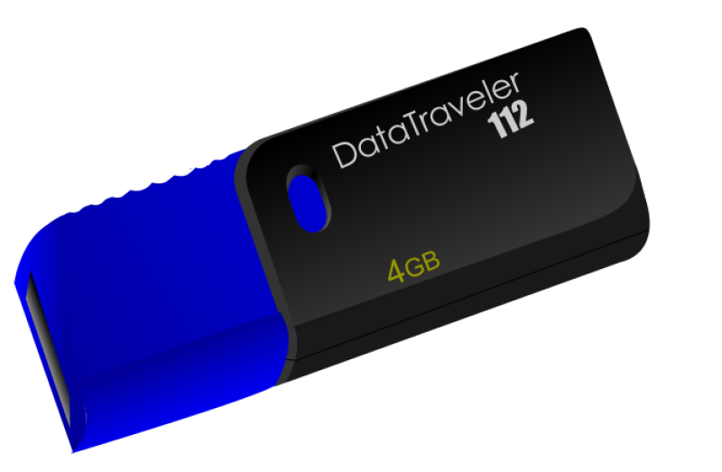 Usb Flash Drive Kingston Datatraveller Clipart png free, Usb Flash Drive Kingston Datatraveller transparent png