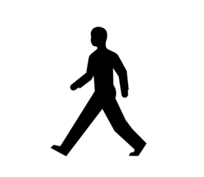 Male-Body-Walking Clipart png free, Male-Body-Walking transparent png