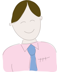 Happy Business Man Clipart png free, Happy Business Man transparent png
