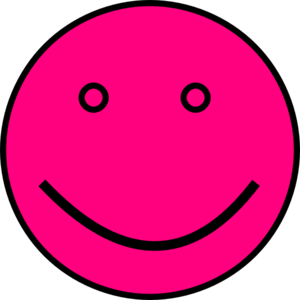Pink Face Clipart png free, Pink Face transparent png