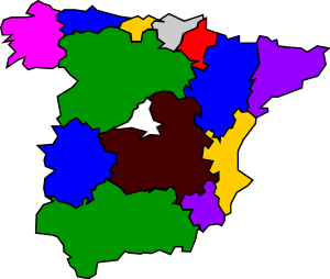 Spanish Regions Clipart png free, Spanish Regions transparent png