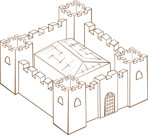 Fortress Clipart png free, Fortress transparent png