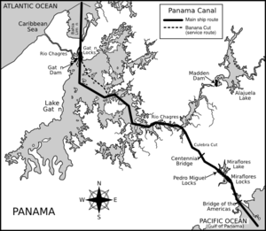 Panama Canal Clipart png free, Panama Canal transparent png