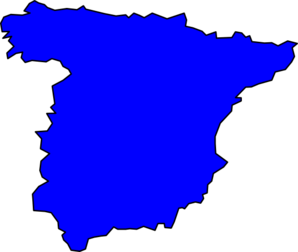 Map Of Spain Clipart png free, Map Of Spain transparent png