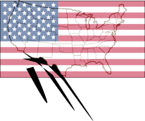 Brown Us Map Clipart png free, Brown Us Map transparent png