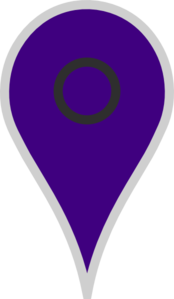 Google Map Pointer Violet Clipart png free, Google Map Pointer Violet transparent png