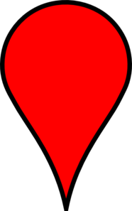 Google Maps Red Clipart png free, Google Maps Red transparent png