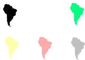 South America Map Clipart png free, South America Map transparent png