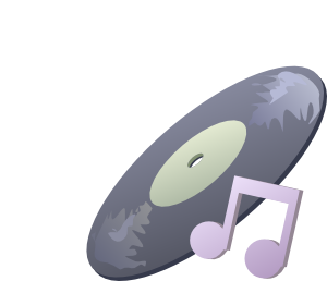 Disk Music Clipart png free, Disk Music transparent png