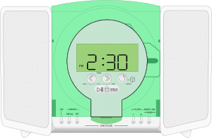 Rca Stereo Cd Player Clipart png free, Rca Stereo Cd Player transparent png