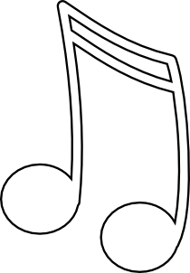 Sixteenth Notes, Joined In A Pair 2 Clipart png free, Sixteenth Notes, Joined In A Pair 2 transparent png