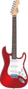 Stratocaster Clipart png free, Stratocaster transparent png