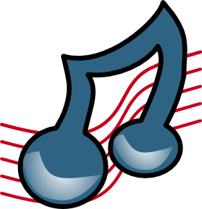 Musical Symbol Bold Clipart png free, Musical Symbol Bold transparent png