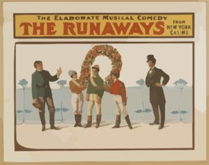 The Runaways The Elaborate Musical Comedy From New York Casino. Clipart png free, The Runaways The Elaborate Musical Comedy From New York Casino. transparent png