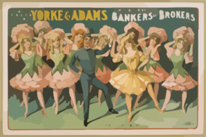 B.E. Forrester Presents Yorke & Adams In The Musical Comedy Success Bankers And Brokers By Aaron Hoffman Clipart png free, B.E. Forrester Presents Yorke & Adams In The Musical Comedy Success Bankers And Brokers By Aaron Hoffman transparent png