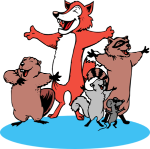 Singing Animals Clipart png free, Singing Animals transparent png