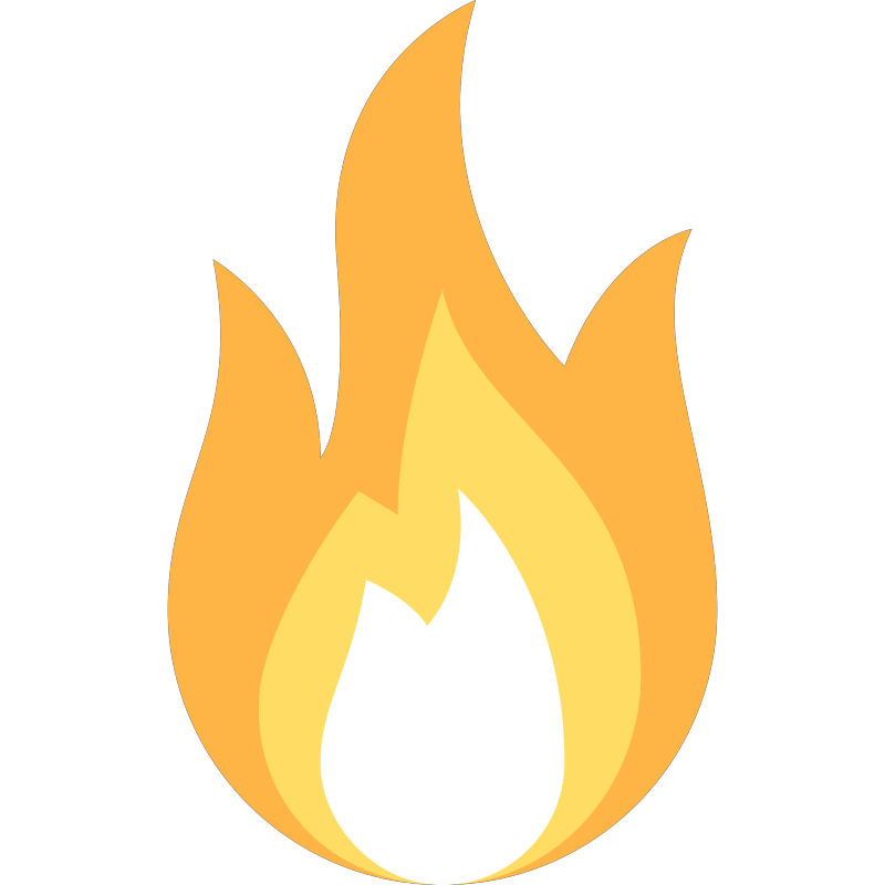 Fire Clipart png free, Fire transparent png