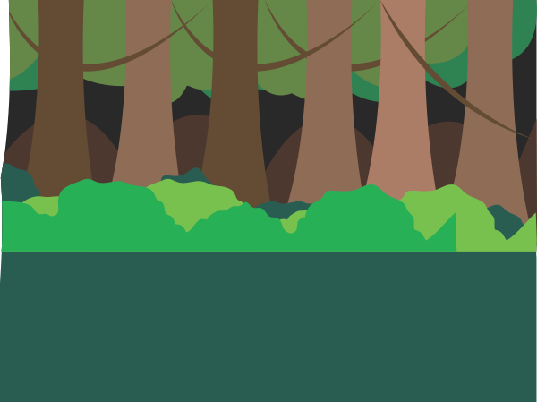 Forest Scene Clipart png free, Forest Scene transparent png