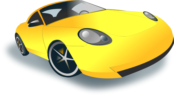 Sports Car Clipart png free, Sports Car transparent png