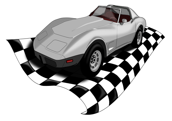 Checkervette Clipart png free, Checkervette transparent png