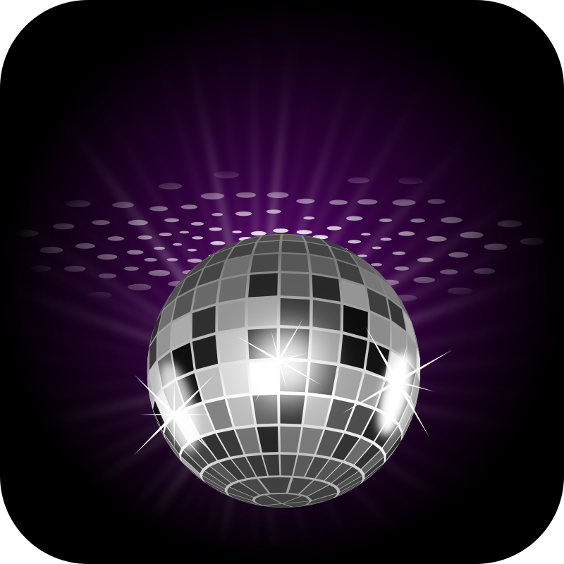 Disco Ball Clipart png free, Disco Ball transparent png