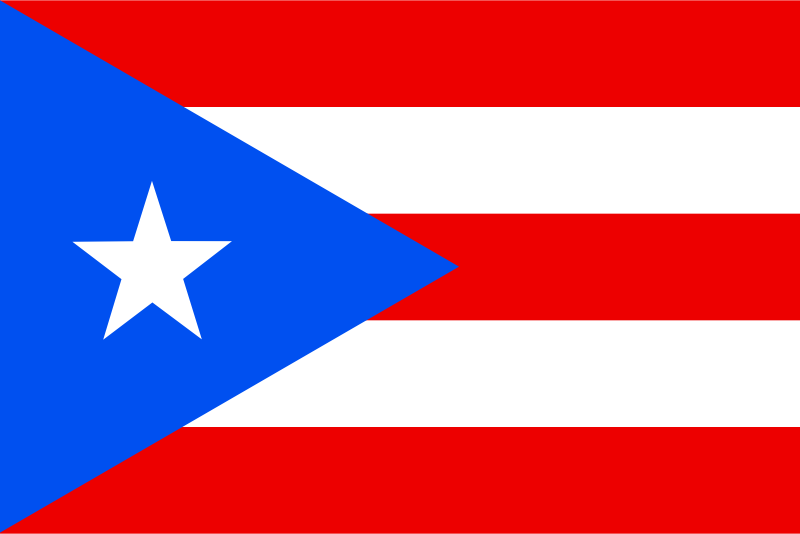 Flag Of Puerto Rico Clipart png free, Flag Of Puerto Rico transparent png