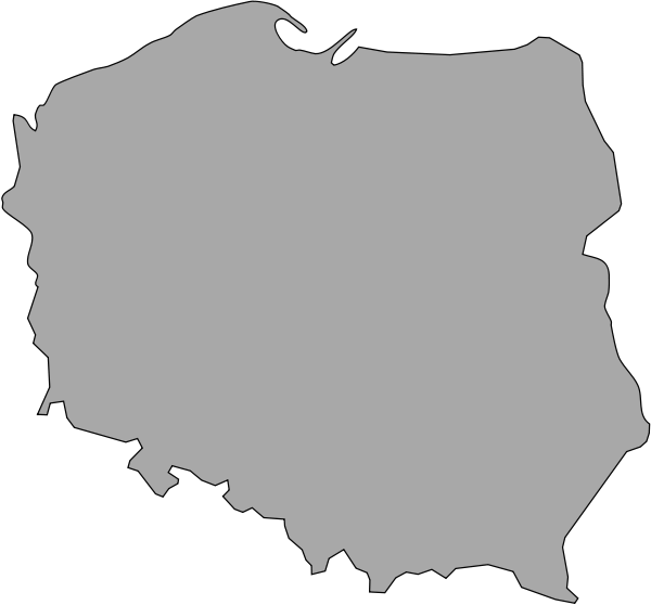 Map Of Poland Clipart png free, Map Of Poland transparent png