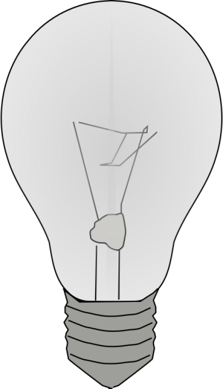 Lightbulb On Clipart png free, Lightbulb On transparent png