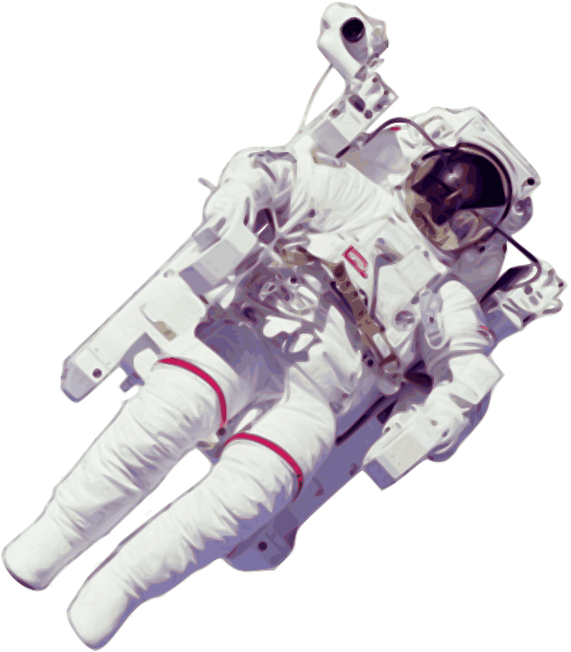 Astronaut Large Version Clipart png free, Astronaut Large Version transparent png