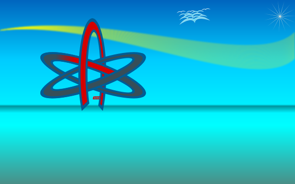Atom Of Atheism Wallpaper Clipart png free, Atom Of Atheism Wallpaper transparent png