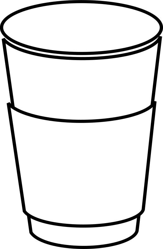 Paper Coffee Cup Clipart png free, Paper Coffee Cup transparent png