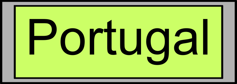"Digital Display With ""Portugal"" Text Clipart png free, Digital Display With ""Portugal"" Text transparent png"