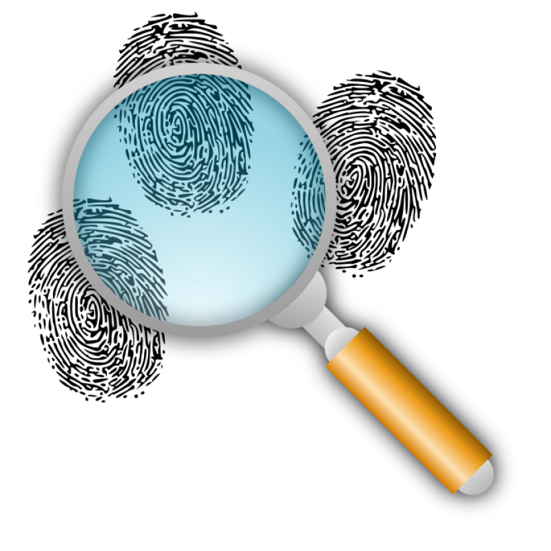 Search For Finger Prints Clipart png free, Search For Finger Prints transparent png