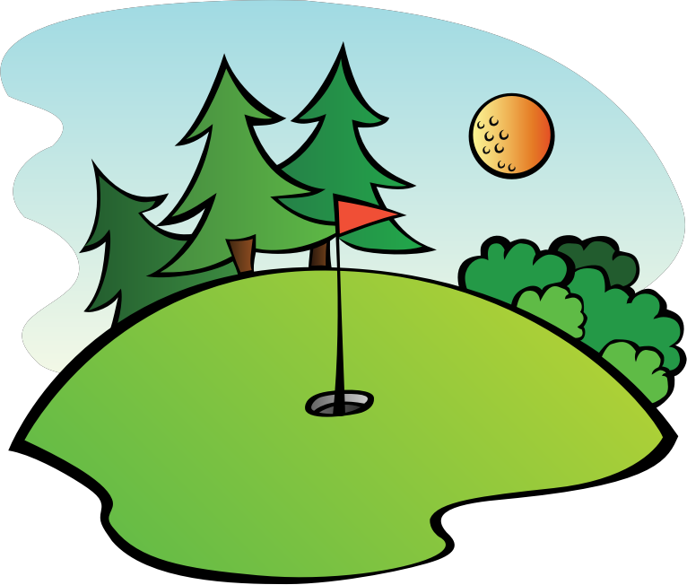 Golf Course Clipart png free, Golf Course transparent png