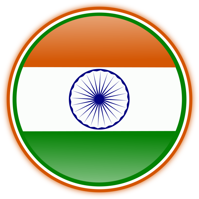 Indian Flag #2 Clipart png free, Indian Flag #2 transparent png