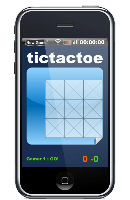 Javascript Phone Tictactoe Game Clipart png free, Javascript Phone Tictactoe Game transparent png