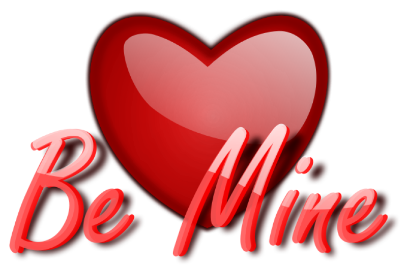 Gloss Be Mine Clipart png free, Gloss Be Mine transparent png