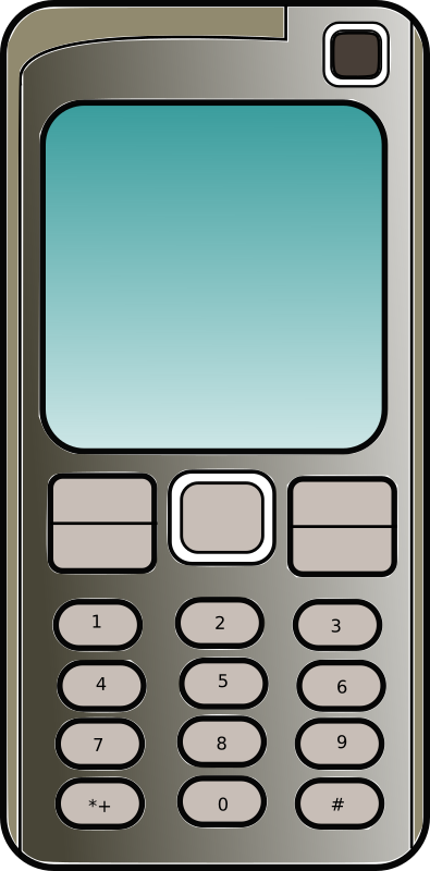 Mobile Phone Clipart png free, Mobile Phone transparent png
