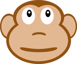 Monkey Face Clipart png free, Monkey Face transparent png